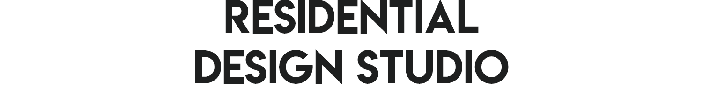 The Residential Design Studio